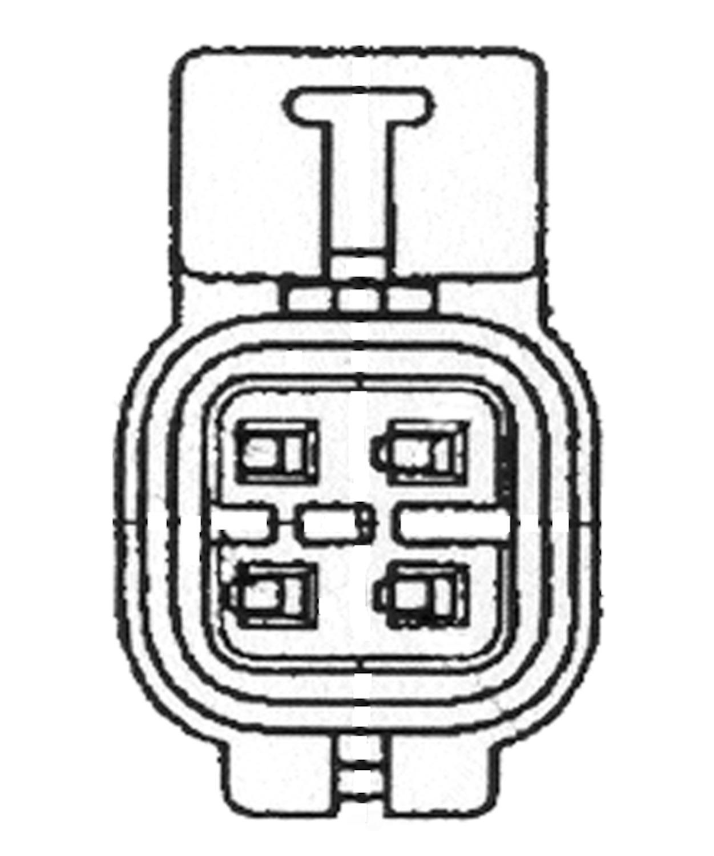 NGK USA STOCK NUMBERS - Direct Fit Oxygen Sensor - NGK 21066