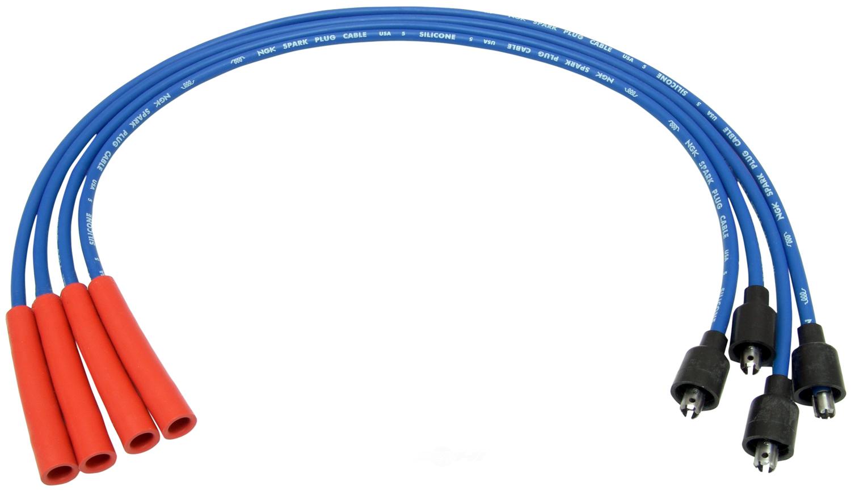 NGK USA STOCK NUMBERS - NGK Spark Plug Wire Set - NGK 52408