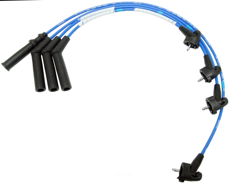 NGK USA STOCK NUMBERS - NGK Spark Plug Wire Set - NGK 6406