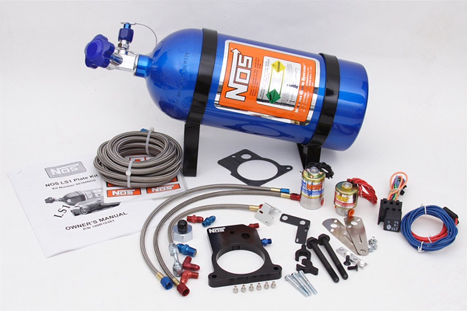 NOS - Nitrous Oxide Injection System Kit - NOS 05168NOS