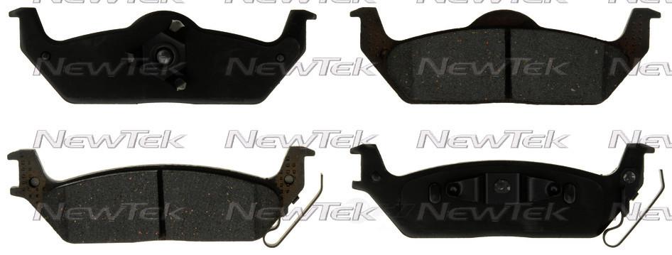 NEWTEK AUTOMOTIVE - Velocity Plus Economy Semi-metallic W/shim Disc Pads - NWT SMD1012
