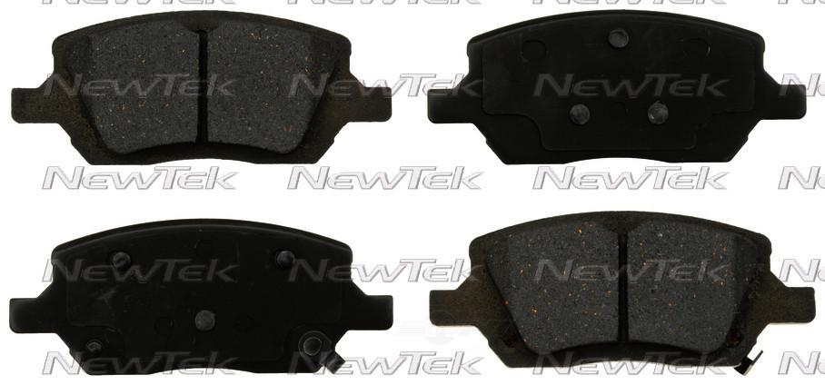NEWTEK AUTOMOTIVE - Velocity Plus Economy Semi-metallic W/shim Disc Pads - NWT SMD1093
