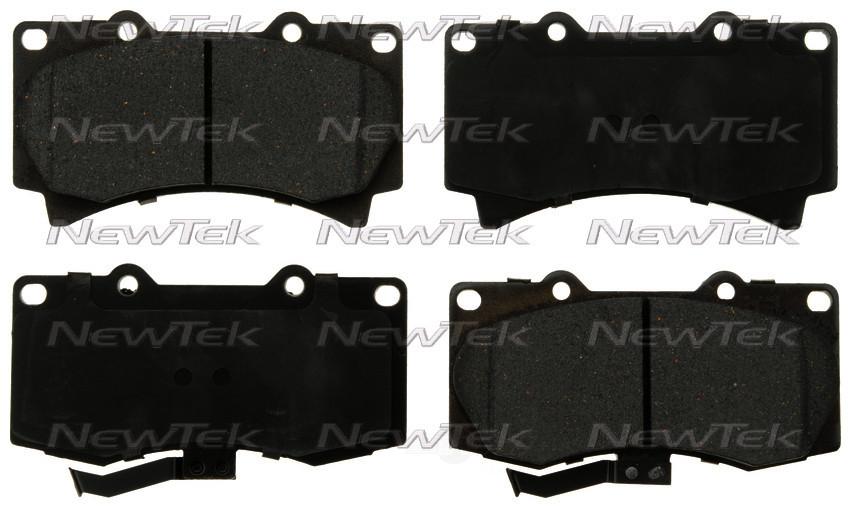 NEWTEK AUTOMOTIVE - Velocity Plus Economy Semi-metallic W/shim Disc Pads - NWT SMD1119
