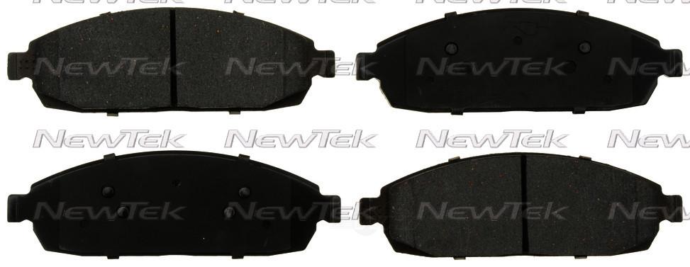 NEWTEK AUTOMOTIVE - Velocity Plus Economy Semi-metallic W/shim Disc Pads - NWT SMD1181