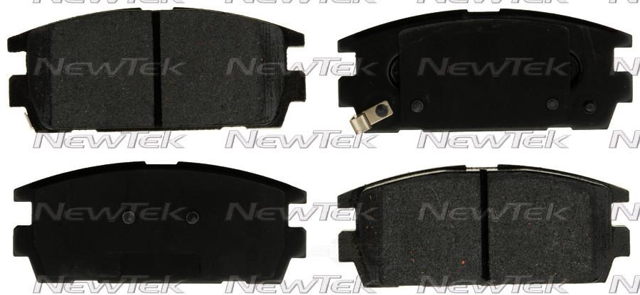 NEWTEK AUTOMOTIVE - Velocity Plus Economy Semi-metallic W/shim Disc Pads - NWT SMD1275