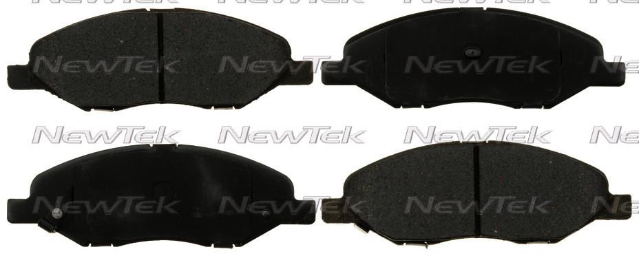 NEWTEK AUTOMOTIVE - Velocity Plus Economy Semi-Metallic w/ Shim Disc Pads - NWT SMD1345