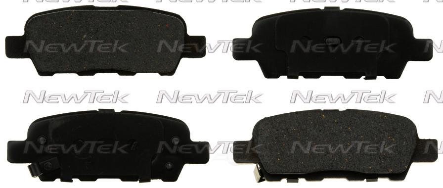 NEWTEK AUTOMOTIVE - Velocity Plus Economy Semi-metallic W/shim Disc Pads - NWT SMD1393
