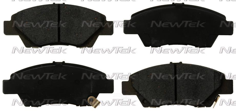 NEWTEK AUTOMOTIVE - Velocity Plus Economy Semi-metallic W/shim Disc Pads - NWT SMD1394