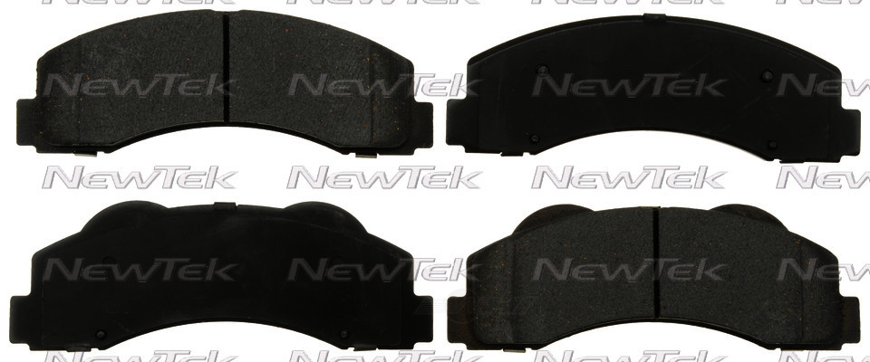 NEWTEK AUTOMOTIVE - Galaxy Ceramic Disc Pads w/Hardware (Front) - NWT SCD1414H