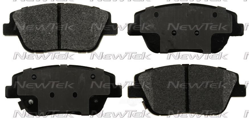 NEWTEK AUTOMOTIVE - Velocity Plus Economy Semi-metallic W/shim Disc Pads - NWT SMD1444