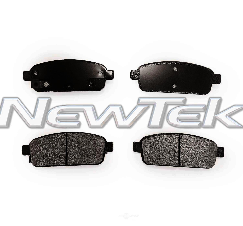 NEWTEK AUTOMOTIVE - Velocity Plus Economy Semi-metallic W/shim Disc Pads - NWT SMD1468