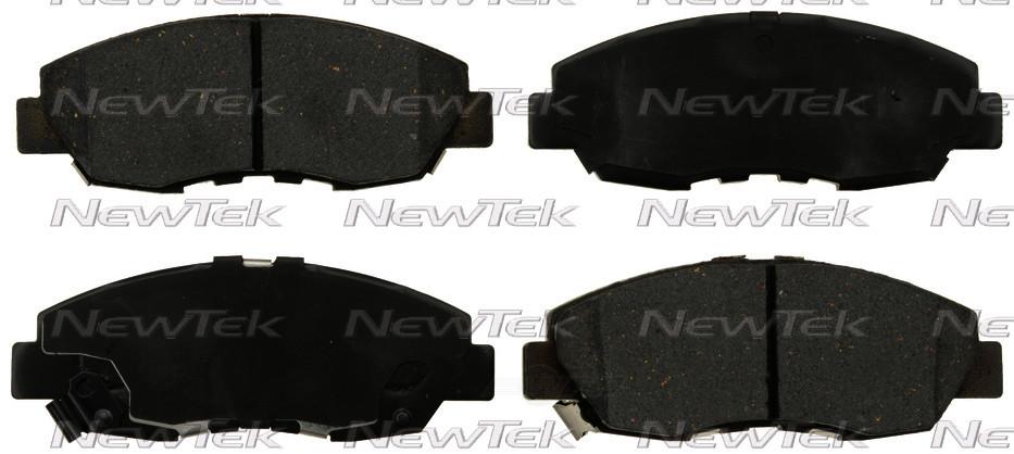 NEWTEK AUTOMOTIVE - Velocity Plus Economy Semi-Metallic w/Shim Disc Pads (Front) - NWT SMD465A