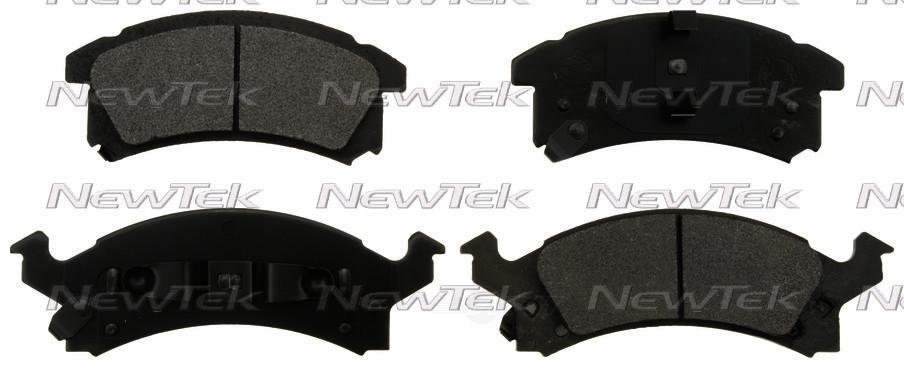 NEWTEK AUTOMOTIVE - Velocity Plus Economy Semi-Metallic w/Shim Disc Pads (Front) - NWT SMD673