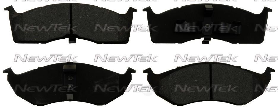 NEWTEK AUTOMOTIVE - Velocity Plus Economy Semi-Metallic w/Shim Disc Pads (Front) - NWT SMD730