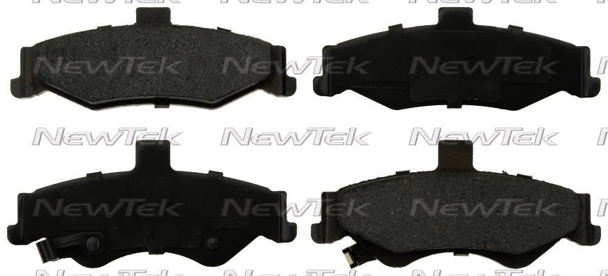 NEWTEK AUTOMOTIVE - Velocity Plus Economy Semi-Metallic w/ Shim Disc Pads (Rear) - NWT SMD750