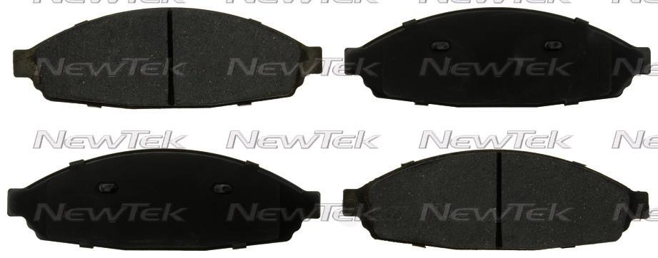 NEWTEK AUTOMOTIVE - Velocity Plus Economy Semi-Metallic w/Shim Disc Pads - NWT SMD931