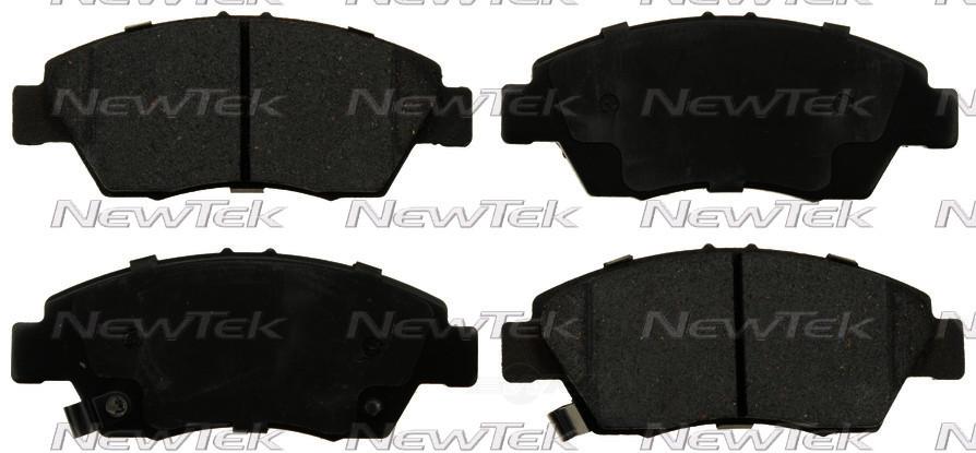 NEWTEK AUTOMOTIVE - Velocity Plus Economy Semi-Metallic w/Shim Disc Pads (Front) - NWT SMD948