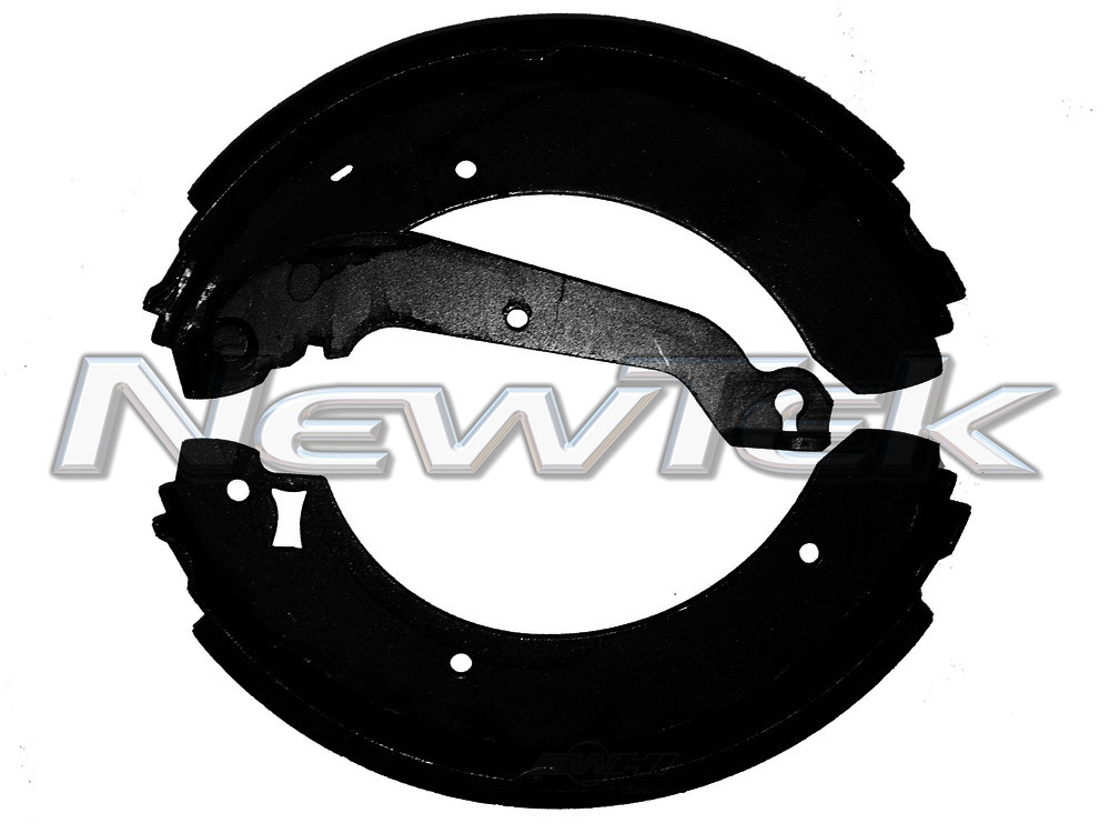 NEWTEK AUTOMOTIVE - Premium New Bonded Brake Shoe (Rear) - NWT NB557