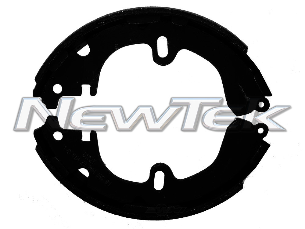 NEWTEK AUTOMOTIVE - Premium New Bonded Brake Shoe - NWT NB597