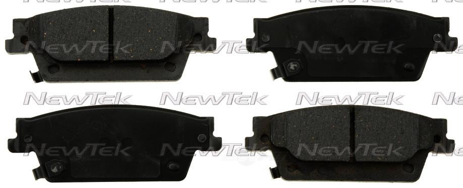 NEWTEK AUTOMOTIVE - Velocity Plus Economy Semi-metallic W/shim Disc Pads - NWT SMD1020
