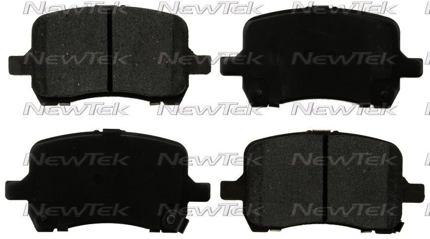 NEWTEK AUTOMOTIVE - Velocity Plus Economy Semi-Metallic w/ Shim Disc Pads - NWT SMD1028
