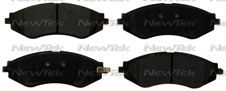 NEWTEK AUTOMOTIVE - Velocity Plus Economy Semi-metallic W/shim Disc Pads - NWT SMD1035