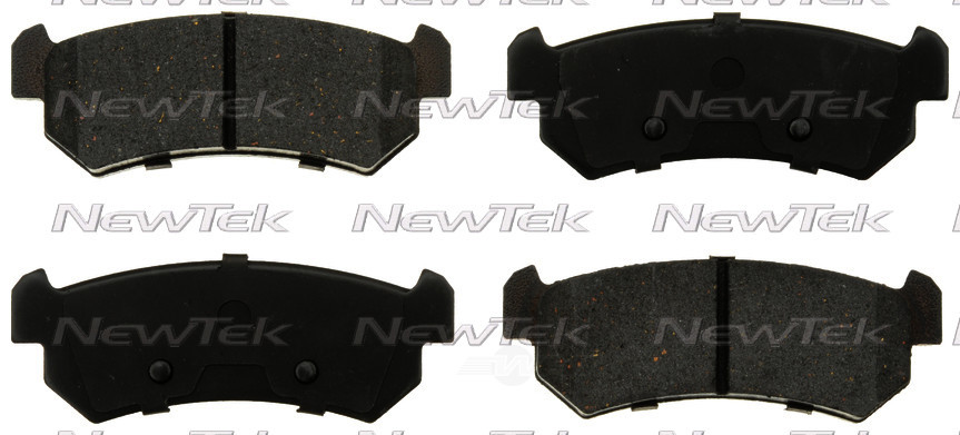 NEWTEK AUTOMOTIVE - Velocity Plus Economy Semi-metallic W/shim Disc Pads - NWT SMD1036