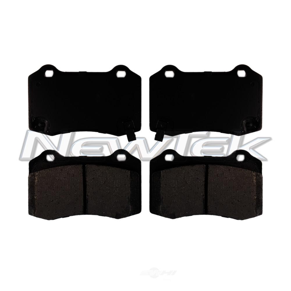NEWTEK AUTOMOTIVE - Velocity Plus Economy Semi-Metallic w/Shim Disc Pads - NWT SMD1053