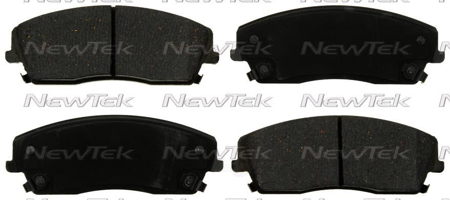 NEWTEK AUTOMOTIVE - Velocity Plus Economy Semi-metallic W/shim Disc Pads - NWT SMD1056