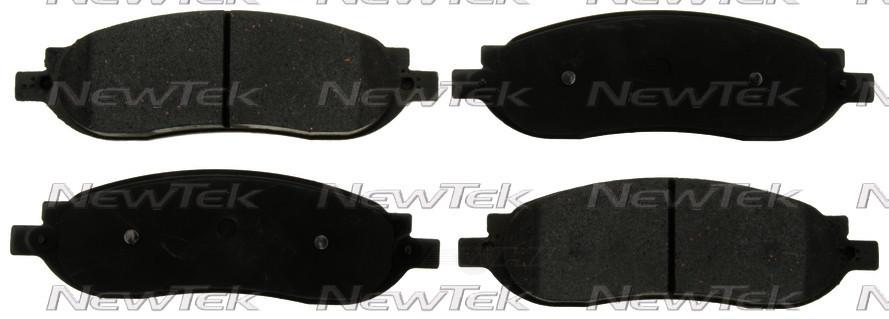 NEWTEK AUTOMOTIVE - Velocity Plus Economy Semi-metallic W/shim Disc Pads - NWT SMD1068