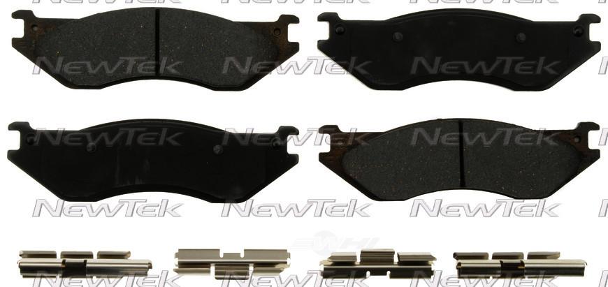 NEWTEK AUTOMOTIVE - Velocity Plus Economy Semi-metallic W/shim Disc Pads - NWT SMD1079