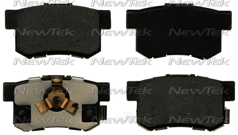 NEWTEK AUTOMOTIVE - Velocity Plus Economy Semi-metallic W/shim Disc Pads - NWT SMD1086