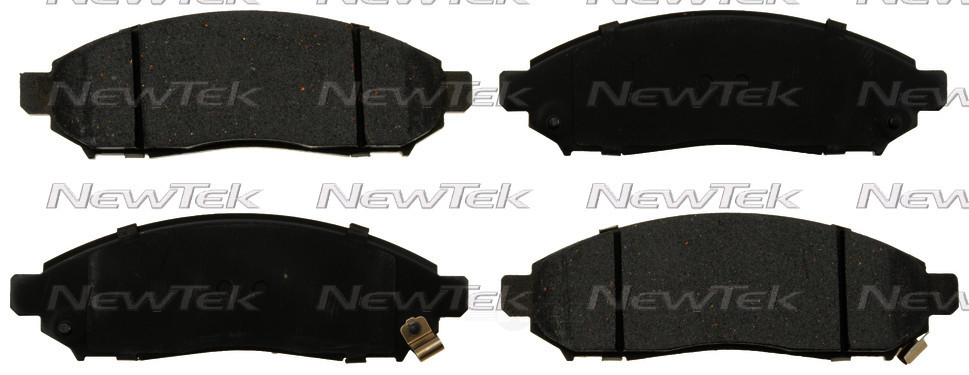 NEWTEK AUTOMOTIVE - Velocity Plus Economy Semi-metallic W/shim Disc Pads - NWT SMD1094