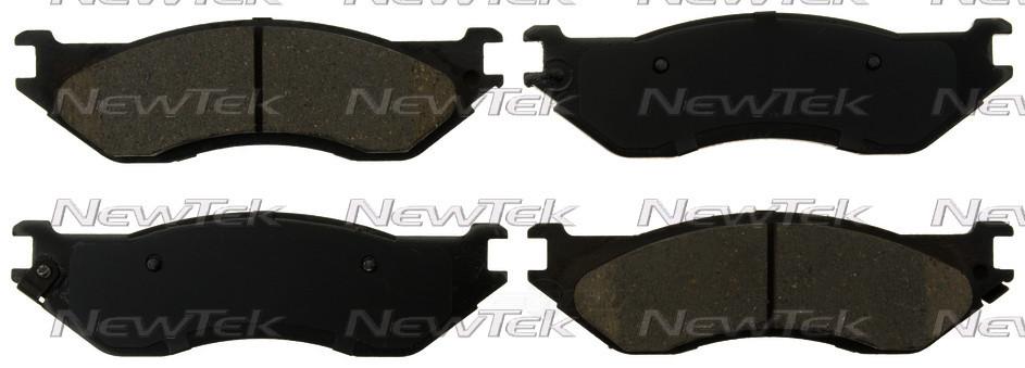 NEWTEK AUTOMOTIVE - Velocity Plus Economy Semi-Metallic w/Shim Disc Pads - NWT SMD1096