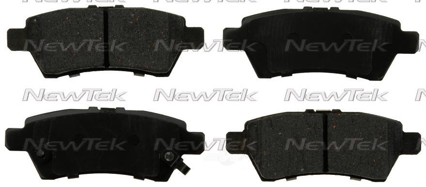 NEWTEK AUTOMOTIVE - Velocity Plus Economy Semi-metallic W/shim Disc Pads - NWT SMD1101