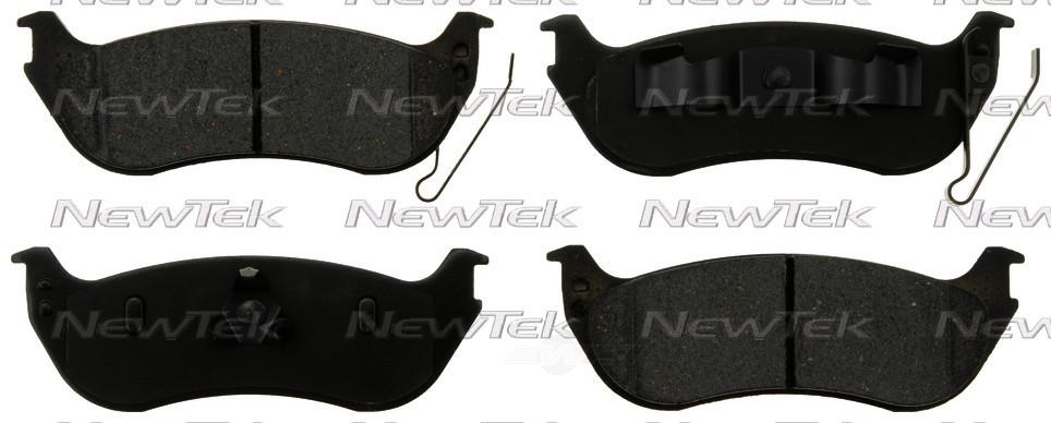 NEWTEK AUTOMOTIVE - Velocity Plus Economy Semi-Metallic w/Shim Disc Pads - NWT SMD1109