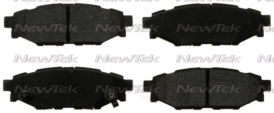 NEWTEK AUTOMOTIVE - Velocity Plus Economy Semi-metallic W/shim Disc Pads - NWT SMD1114