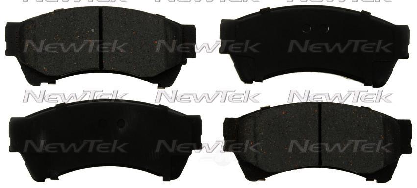 NEWTEK AUTOMOTIVE - Velocity Plus Economy Semi-metallic W/shim Disc Pads - NWT SMD1164