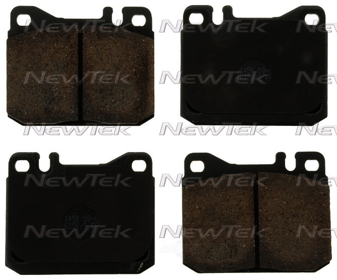NEWTEK AUTOMOTIVE - Velocity Plus Economy Semi-metallic W/shim Disc Pads - NWT SMD120