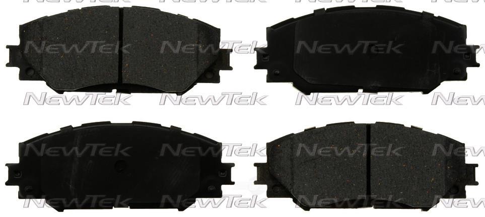 NEWTEK AUTOMOTIVE - Velocity Plus Economy Semi-Metallic w/Shim Disc Pads - NWT SMD1210
