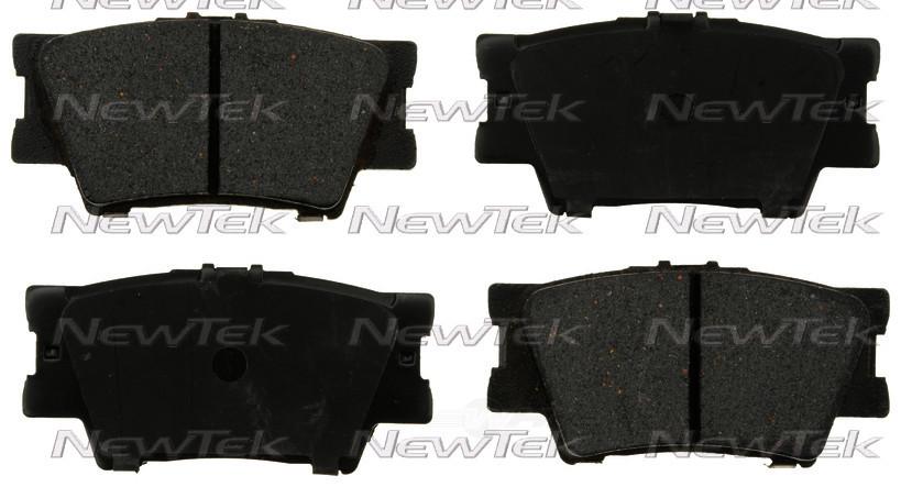 NEWTEK AUTOMOTIVE - Velocity Plus Economy Semi-metallic W/shim Disc Pads - NWT SMD1212