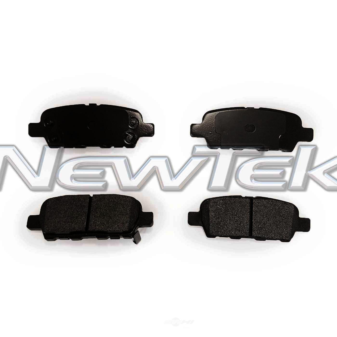 NEWTEK AUTOMOTIVE - Velocity Plus Economy Semi-metallic W/shim Disc Pads - NWT SMD1288
