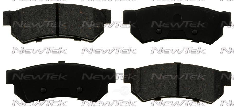 NEWTEK AUTOMOTIVE - Velocity Plus Economy Semi-metallic W/shim Disc Pads - NWT SMD1315