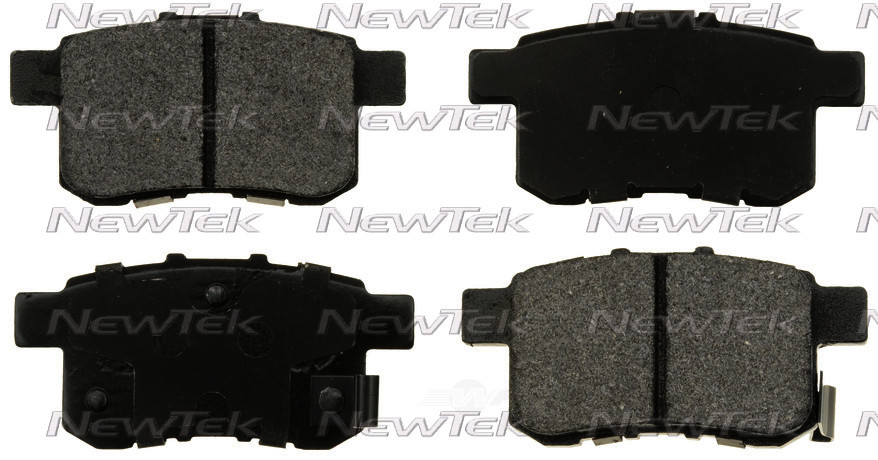 NEWTEK AUTOMOTIVE - Velocity Plus Economy Semi-metallic W/shim Disc Pads - NWT SMD1336