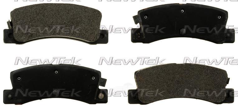 NEWTEK AUTOMOTIVE - Velocity Plus Economy Semi-metallic W/shim Disc Pads - NWT SMD352