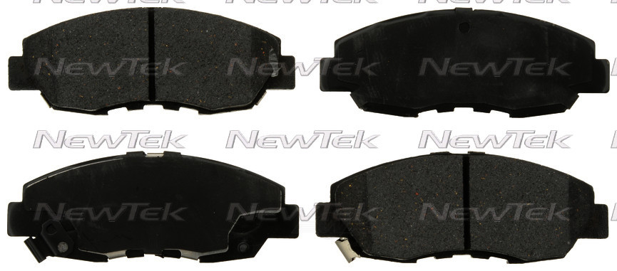 NEWTEK AUTOMOTIVE - Velocity Plus Economy Semi-Metallic w/Shim Disc Pads (Front) - NWT SMD465