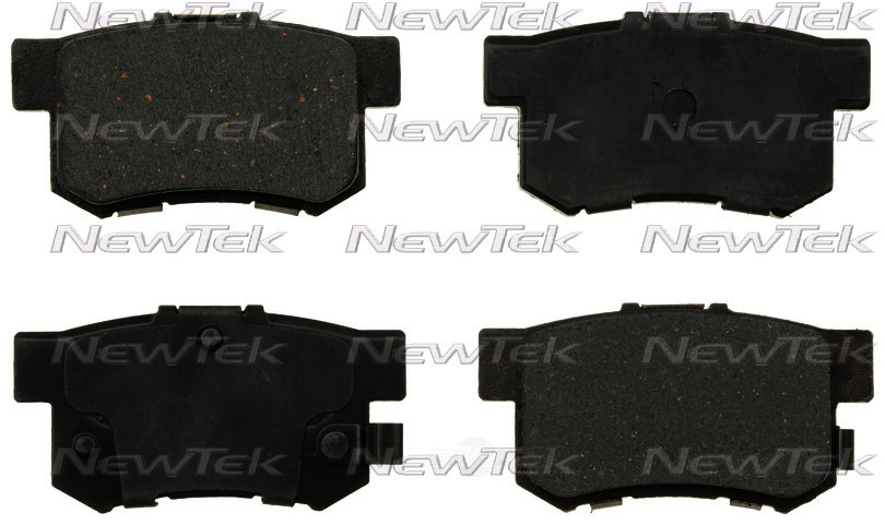 NEWTEK AUTOMOTIVE - Velocity Plus Economy Semi-metallic W/shim Disc Pads - NWT SMD537