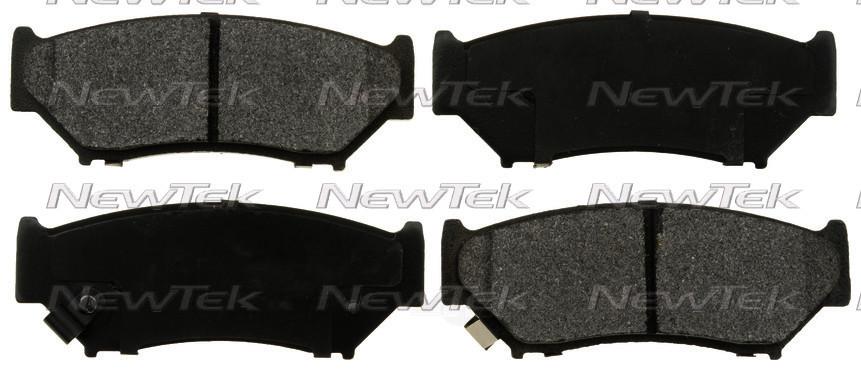 NEWTEK AUTOMOTIVE - Velocity Plus Economy Semi-metallic W/shim Disc Pads - NWT SMD556