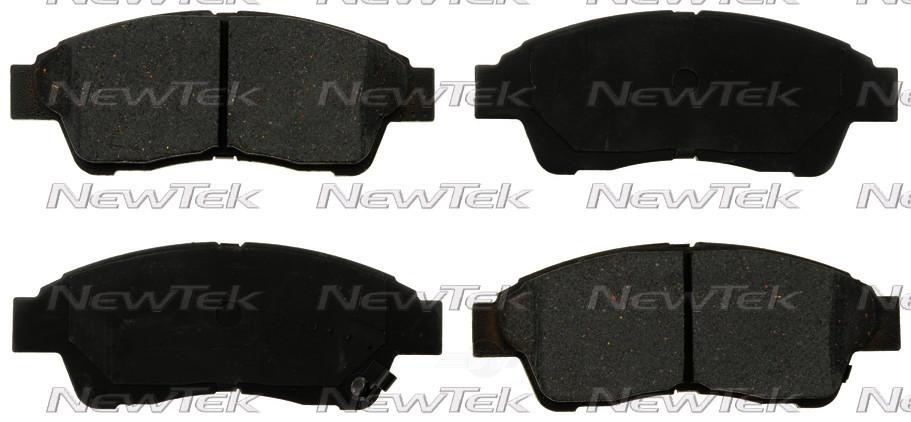 NEWTEK AUTOMOTIVE - Velocity Plus Economy Semi-metallic W/shim Disc Pads - NWT SMD562