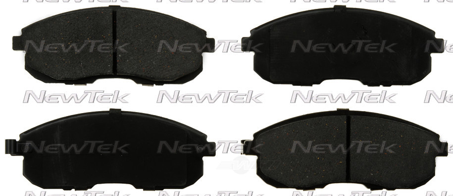 NEWTEK AUTOMOTIVE - Velocity Plus Economy Semi-metallic W/shim Disc Pads - NWT SMD653